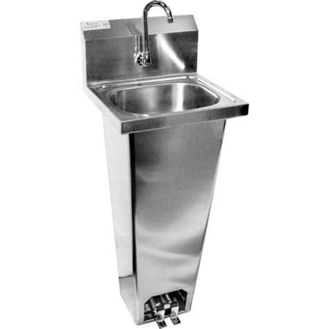 Foot Operated Faucet Ace Atlanta Culinary Equipment Inc Hand Sink With