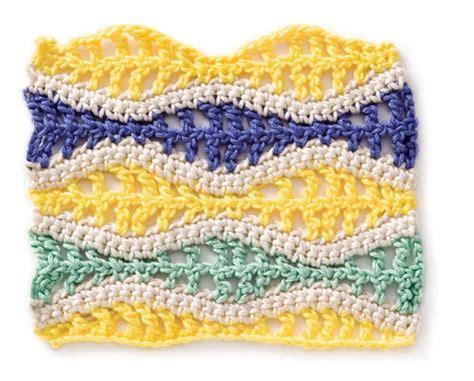 crochet wave ripple pattern stitch knitting bee 74 best crochet stitch patterns images on pinterest