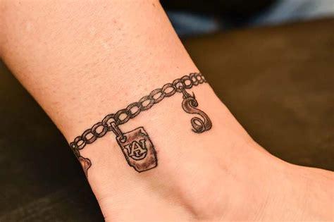 charm tattoo charm bracelet tattoos