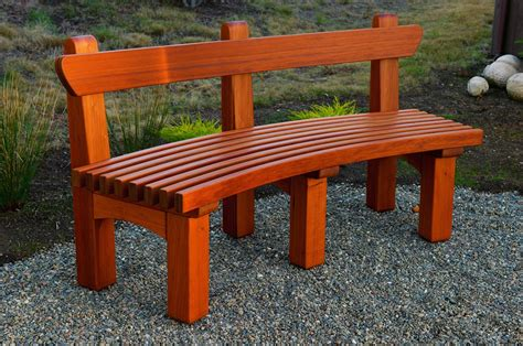 redwood bench redwood garden bench phil wendt