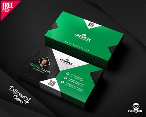 Free Business Card Design Templates Bundle Psddaddy Com Business Card Template Maker Free