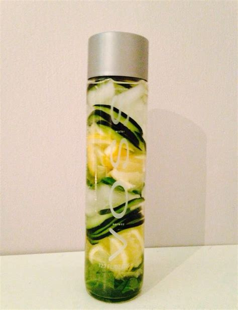 Fruit Infused Detox Water Bottle by 1000 Images About Voss Bottles Awesome On