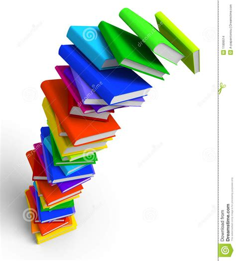 the of falling books falling books stack stock images image 11899514