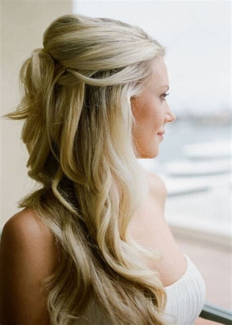 17 best images about half updo wedding hairstyle for thin waves updos and elegant buns 20 best wedding hairstyles