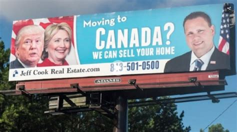 moving to canada realtor s moving to canada we can sell your home billboard going viral myfox8