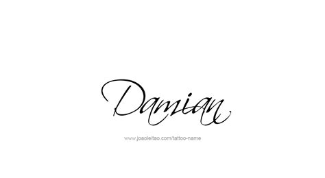 damian tattoo damian name designs