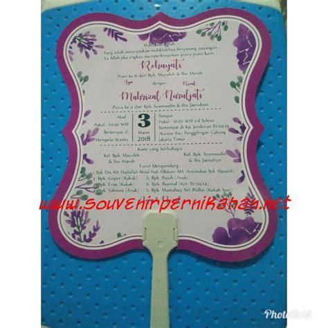 Kertas Undangan 2018 undangan pernikahan dan souvenir pernikahan kipas kertas