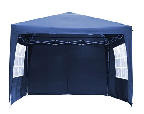 Portable Canopy With Sides Portable Budget 3m X 3m Foldable Pop Up Gazebo Tent With