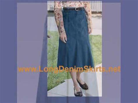 Hq 10334 Denim Skirt With 1 denim skirts