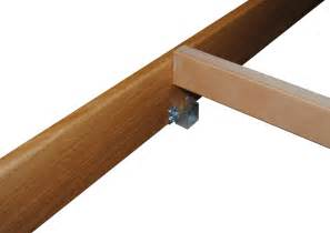 u shaped bed centre rail brackets for wooden bed frames