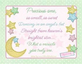 Irish Blessing Baby Starry Precious Baby Blessing Quote Pastel Twinkle Star