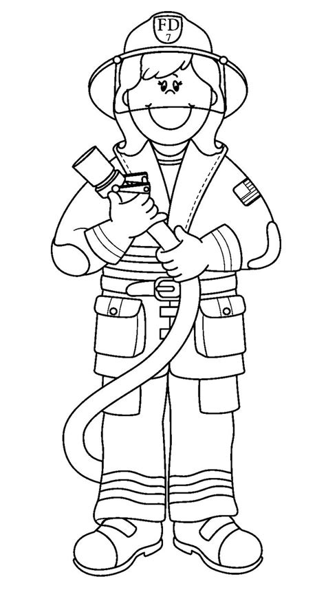 coloring pages vire girl fireman coloring pages coloringsuite com