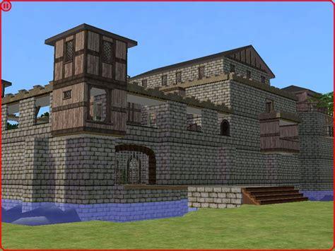 sims 4 medieval castle mod the sims medieval castle