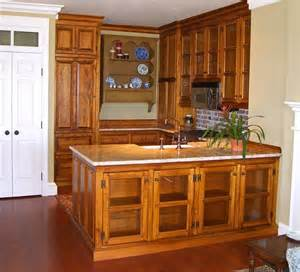 Rustic Pine Kitchen Cabinets by Custom Countertops Custommade Custommade Com