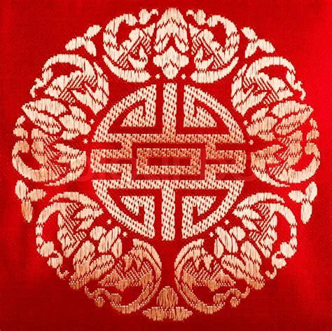 chinese pattern fabric vector chinese fabric pattern stock photo colourbox