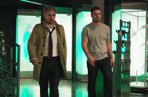 oliver queen tattoo john constantine could the cw constantine cameo lead to a new series new