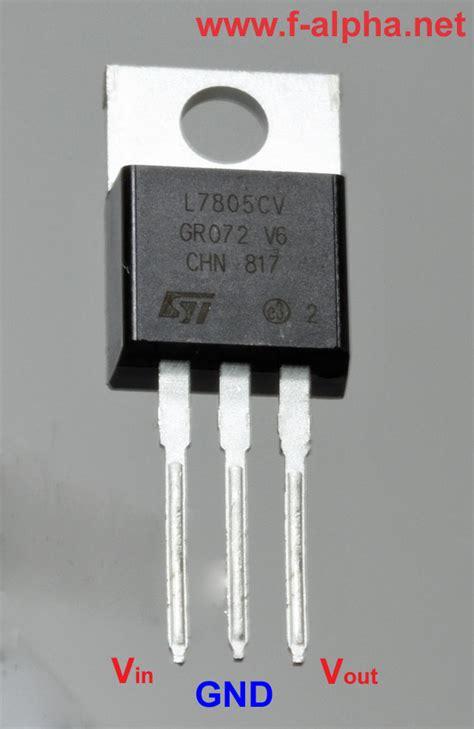integrated circuit ic voltage regulators f alpha net voltage regulator 78xx
