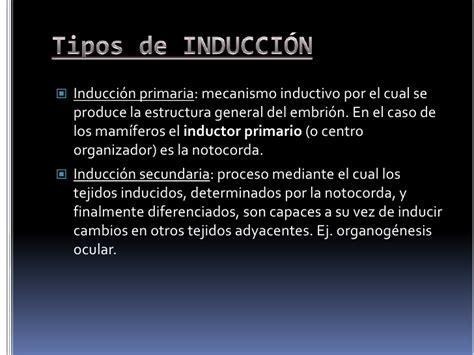 inductor principal en la induccion neural primaria unidad 6 fisiolog 237 a embrionaria