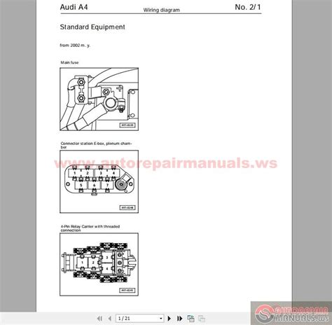 audi a4 b5 2002 wiring diagram auto repair manual forum