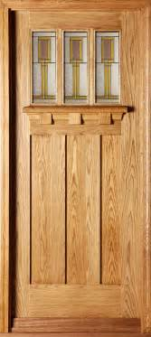 Oak Exterior Doors Tuscany Tulip External Oak Door