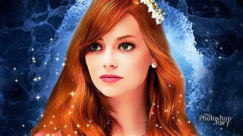 emma stone disney the little mermaid live action emma stone as ariel youtube
