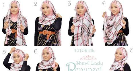 tutorial hijab juni 2015 trend dan tutorial hijab remaja terbaru