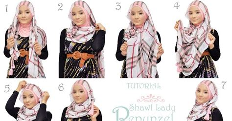 tutorial berhijab tahun 2015 trend dan tutorial hijab remaja terbaru