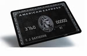 Black Cards - the legendary black card explained