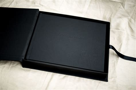 album cover coffee table book black leather wedding album wedding albums