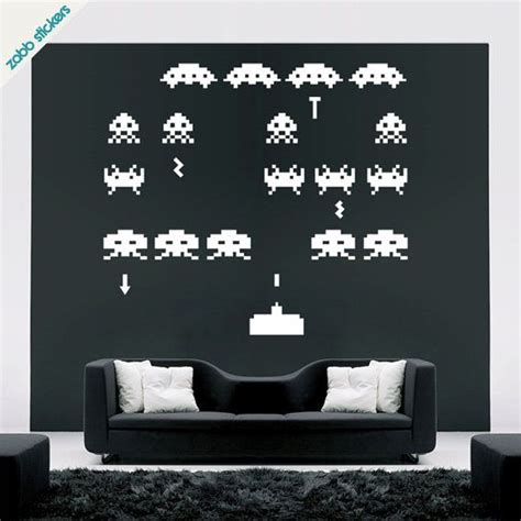 space invaders wall stickers 25 best ideas about office wall decals on