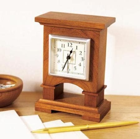 woodworking clock plans 31 md 00434 easy to make desk clock woodworking plan