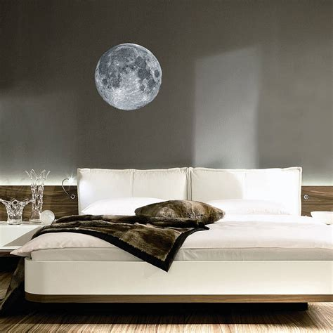 full wall stickers for bedrooms full moon wall sticker by oakdene designs
