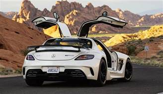 mercedes sls amg black series a near sell out at