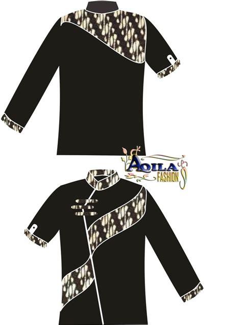 Kemeja Batik Danar Hadi Pe 023 model baju batik pria kombinasi kain polos 2014 blouses