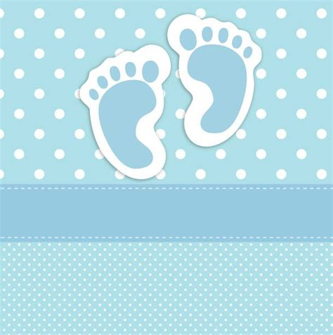 Free Baby Card Template For Cricut by Baby Footprints Card Template Pinteres