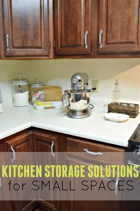 kitchen storage for small spaces kitchen storage solutions for small spaces this girl s life
