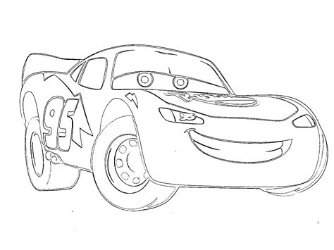 Lightning Mcqueen Coloring Pages Free Large Images Lightning Mcqueen Free Coloring Pages