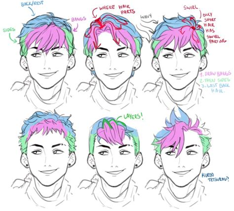 guy hairstyles drawing best 25 art reference ideas on pinterest character
