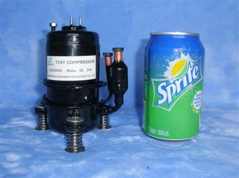lt27dc24h dc tiny compressor 500w capacity mini compressor dc 24v r134a for air conditioner