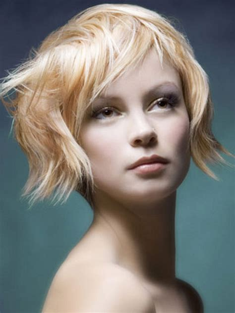 short layered choppy bobs with side bangs 20 cute short haircuts for 2012 2013 short hairstyles