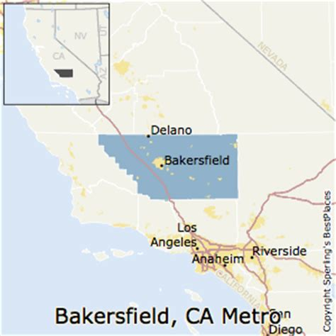 bakersfield california us map bakersfield california map california map