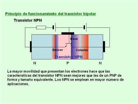 funcionamiento transistor npn y pnp componentes electr 243 nicos el transistor bipolar monografias