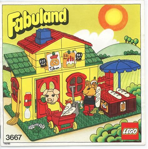 Castle Home Plans lego pat and freddy s shop instructions 3667 fabuland
