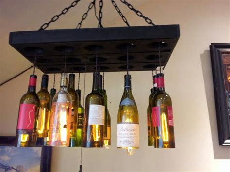 Pin By Chelsea Koenig On Thrift Store Diy Ideas Pinterest Liquor Bottle Chandelier