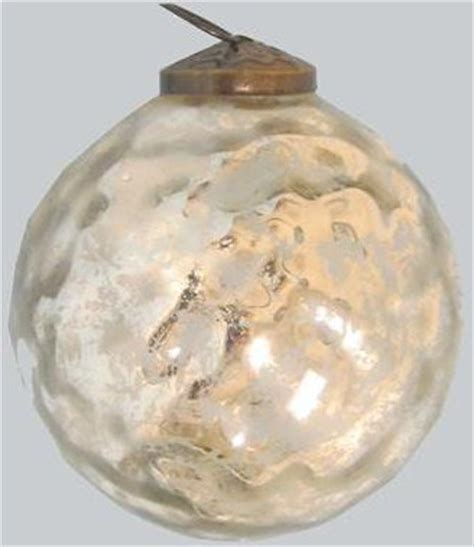 glass hammered christmas decorative ball modern