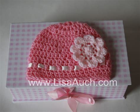 free crochet pattern newborn flower hat free easy crochet baby hat pattern with crochet flower