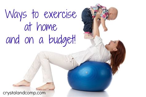 inexpensive ways to workout at home crystalandcomp