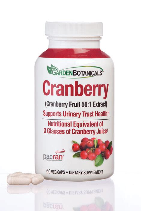 garden botanicals garden botanicals cranberry vegicaps as we change