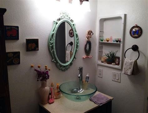 bathroom mirror ideas on wall top 10 bathroom decorating ideas on a budget with pictures