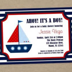 nautical template nautical baby shower invitations templates christmanista